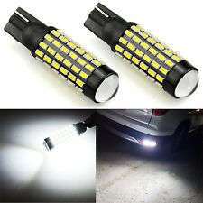 JDM ASTAR 2x 78-SMD 921 912 T10 T15 LED 6000K White Backup Reverse Lights Bulbs