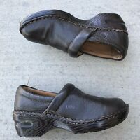 Bolo by Born Womens Brown Clogs Leather Size 8.5 M/W J00635