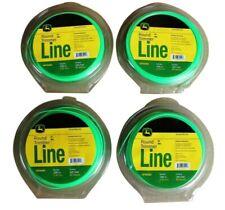 4 PACK John Deere .095 inch Heavy-Duty Trimmer Line Weed Eater String Trim Lawn