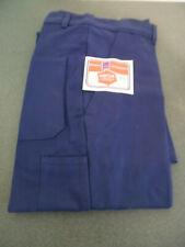 Vintage Ancien Pantalon bleu de travail Sanfor Neuf avec étiquette Taille 44