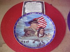 WW2 'D-Day' Plate w/ COA by Bradford Exchange .LOOK!!