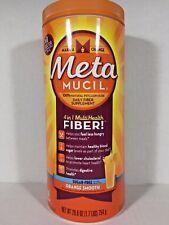 MetaMUCIL 4 in 1 MultiHealth FIBER, Sugar Free, 130 Teaspoons 26.6 oz / 1.7 lbs
