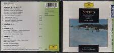 Sibelius / Symphony No.5 - FinLandia Tapiola  Valse Triste Karajan CD  HLM.45