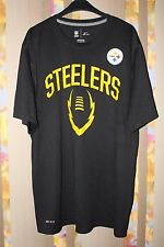 NIKE PITTSBURGH STEELERS LEGEND ICON T- SHIRT JERSEY NFL SIZE L