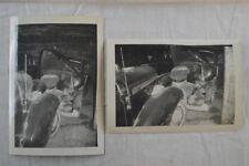 Vintage Car Photos 1937 Pontiac & 1941 Chevrolet Wreck  833