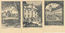 6 Karten vom Stift St. Lambrecht, Steiermark   (D36)