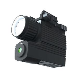 Nebo 6270 RM190LSG Rail Mounted 190 Lumen LED Firearm Light Green Laser