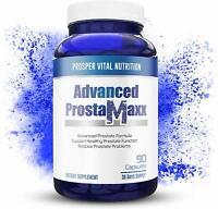 Advanced Prosta-Maxx - Superior Prostate Support Supplement - 90 Vegan Capsules