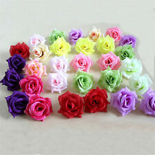 Artificial Silk Roses Head Simulation Flower Heads Wedding Home Party Decoration