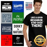 Quirky Tee Shirt Nerdy T-Shirt Mens Geeky Tshirts Unique T Shirt For Womens Gift