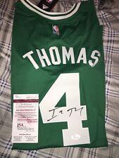 Boston Celtics Isaiah Thomas Autographed JSA Swingman Jersey Signed Autographed