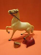 ALL ORIGINAL HARTLAND INDIAN CHIEF BRAVE EAGLE HORSE , BLANKET & HEADDRESS 1950