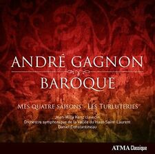 ANDR' GAGNON: BAROQUE NEW CD