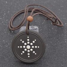 Blingbling Choker Halskette Charme Kristall Sonne Quantum Yoga Schmuck Geschenk
