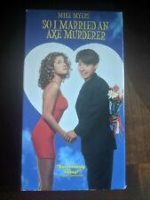 So I Married an Axe Murderer (VHS, 1994, Closed Captioned)
