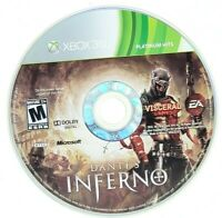 Dante's Inferno Microsoft Xbox 360 X360 Game Only