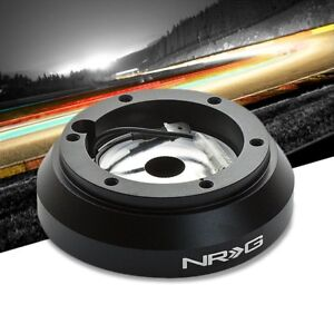 NRG SRK-160H Short Steering Wheel Hub Adapter Black For 95-15 Hyundai Accent