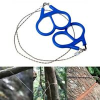 Stainless Steel Ring Wire Outdoor Camping Saw Rope Survival Emergency Tool 2020