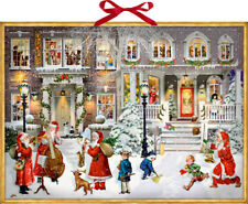 Music in the Street Musical Advent Calendar 52 cm x 38 cm 24 songs with battery