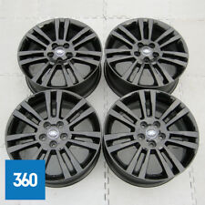 "GENUINE LAND ROVER DISCOVERY 3 4 19"" LANDMARK V SPOKE BLACK ALLOY WHEELS"