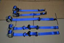 Juego de 5 cinturones de seguridad Azules (OPC Style) Opel Astra H GTC OPC 3P