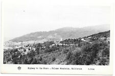 Frashers Fotos RPPC Highway to the Stars in Palomar Mountains, California~105030