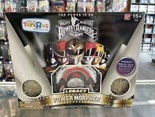 NEW 2014 Mighty Morphin Power Rangers The Movie White Legacy Power Morpher Excl.