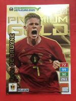 Adrenalyn Road To Euro 2020Kevi De Bruyne Premium Gold Lim Edition