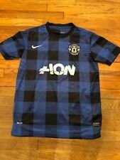 MANCHESTER UNITED 2012   2013 THIRD AWAY BLUE NIKE JERSEY Size M 220180e048