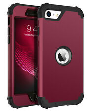 For iPhone Se 2nd 2020 Full Body Rugged Shockproof Protective Hard Case Cover