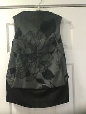 NEW Ter Et Bantine Sleeveless Tank Top Blouse Size 40