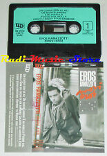 MC EROS RAMAZZOTTI Nuovi eroi 1986 1 STAMPA ITALY 40 DDD 26979 cd lp dvd vhs(***