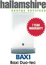 INSTALLED BAXI DUO TEC 33HE / 7 YEARS WARRANTY FREE PR STAT & CP12