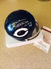 Mike Ditka Chicago Bears NFL autographed mini helmet