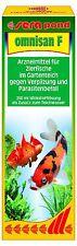 sera pond omnisan  250 ml- Arzneimittel für Gartenteichfische