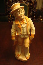 German Bisque figurine of a gentleman, very detailed