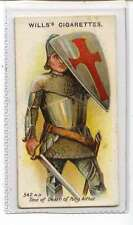 (Jl877-100) Wills,Arms & Armour,Knight Of The Round Table,1910 #5