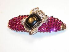 Crystals & Crystal CAR Betsey J. Barrette Pink ZOOM ZOOM!