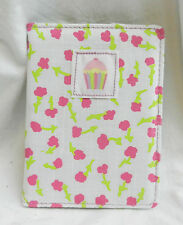 Think Pink Fabric Covered Passport  Holder / Travel Wallet - BNWT