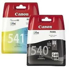 Canon PG540 CL541 Black & Colour Ink Cartridges For PIXMA MG2150 MG3150 MG3550 M