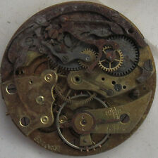 Chronograph Pocket Watch movement 42,5 mm. in diameter some parts missing