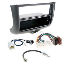 Toyota Yaris 99-03 1-DIN Autoradio Einbauset Adapter Kabel Radioblende