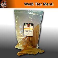 Weiß Premium Rinder Ohren 5 Sück im Beutel - Premium Snack