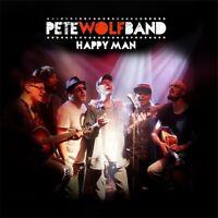 PETE WOLF BAND - HAPPY MAN   CD NEU