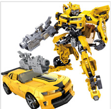 TRANSFORMERS 5 The Last Knight Movie Deluxe Bumblebee New Camaro FIGURE