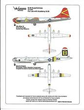 Warbird Colorful B-29A Superfortress Decals, Dave's Dream, Ole Miss IV 1/72 024