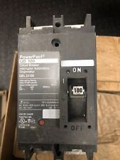Square D Qbl22100 2 Pole 100a Circuit Breaker New With Opendamaged Box