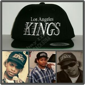 LA Los Angeles Kings Retro Logo Cap Hat Snapback NWA EAZY E