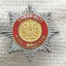 Sheffield - Fire Brigade cap badge.