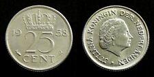Netherlands - Juliana 25 Cent 1958